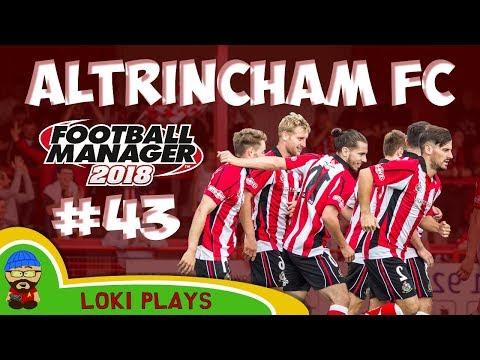FM18 - Altrincham FC - EP43 - v Morecombe Vanarama National League North - Football Manager 2018