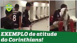 EXEMPLO! OLHA o que o Corinthians fez com o Lara apos jogo!
