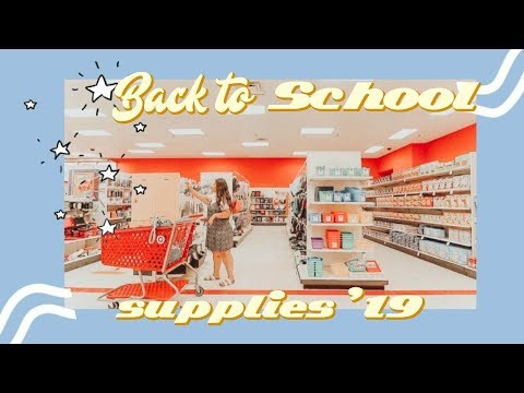 BACK TO SCHOOL SUPPLIES SHOPPING! *College Edition* + Haul ✏️📚