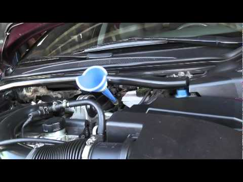 Volvo V70 Transmission Flush. DIY Transmission fluid ch... | Doovi