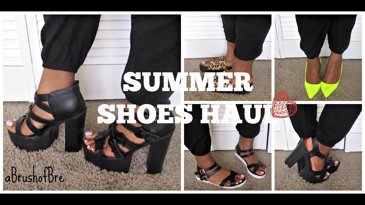 de5753fbe60f Summer Shoes Haul