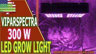 VIPARSPECTRA 300W LED Grow Light Full Spectrum for Indoor Plants Veg and Flower