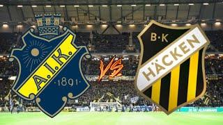 AIK MOT SM-GULD | AIK - HÄCKEN | SEBASTIAN LARSSON!!