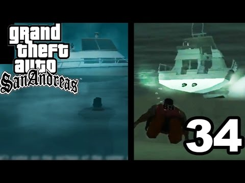 GTA San Andreas | UNDERWATER MISSION! #34