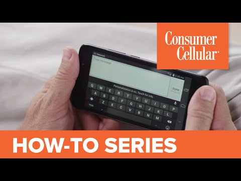 Huawei Vision 3: Sending and Receiving a Text Message (4 of 11) | Consumer Cellular