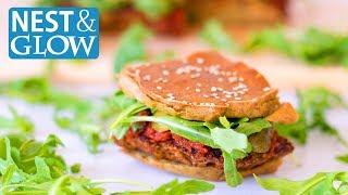 FAST Quinoa Veggie Burger Sliders Recipe - Vegan and Gluten-free