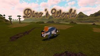 Triceratops & Giganotosaurus Remodel! - Roblox Dino's World