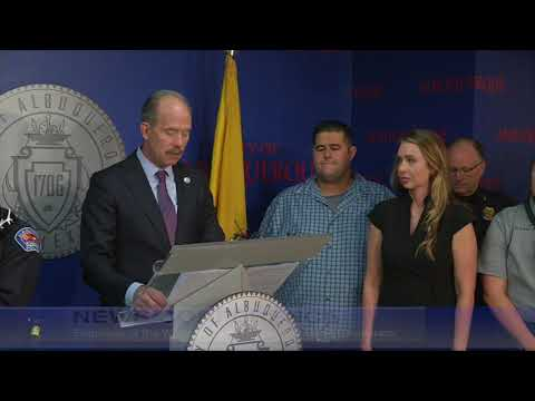 Mayor Richard J. Berry, City of Albuquerque  News Conference  9-22-17