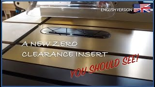 NEW Design Zero Clearance insert for table saw