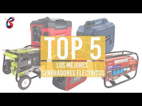Los 5 mejores GENERADORES ELÉCTRICOS – 2021