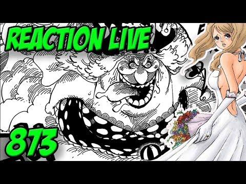 QUELQUES SECONDES AVANT L'ENFER - Reaction live chapitre one piece 873