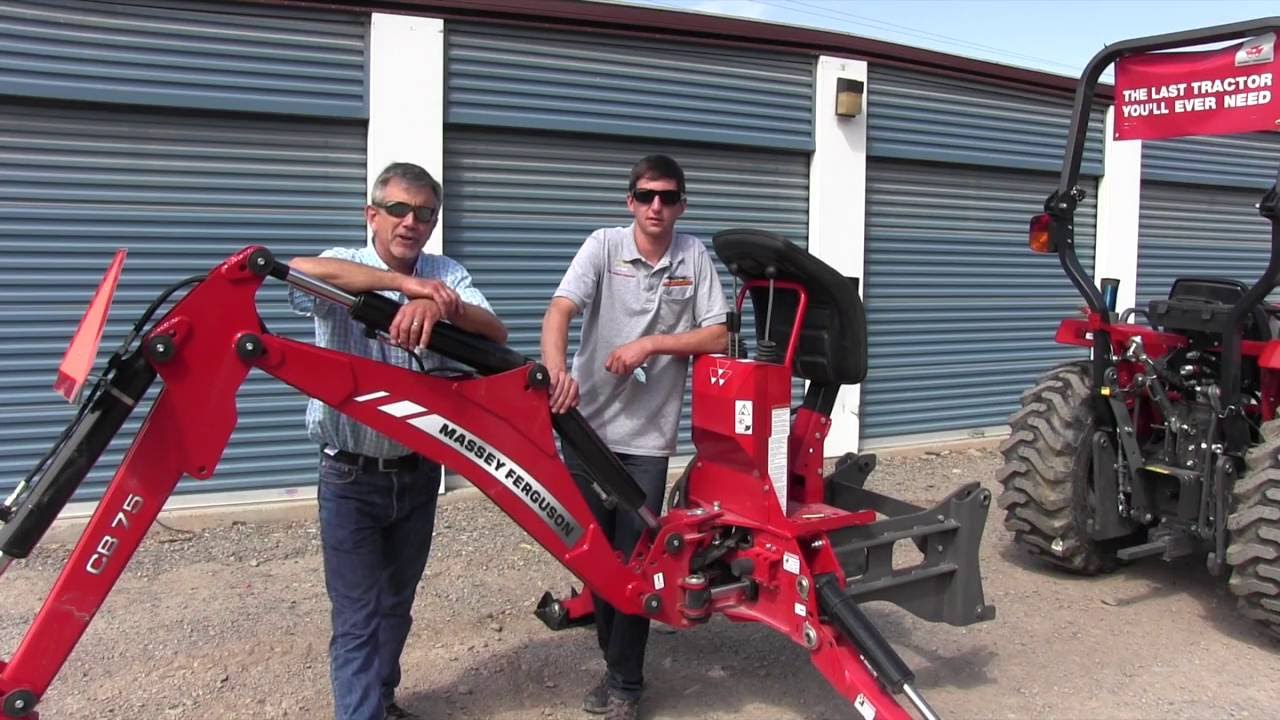 Attaching A Backhoe To A Tractor