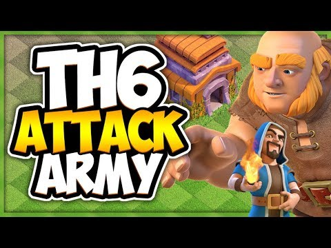 TH 6 Best Farming Strategy GIWI | Ultimate TH 6 Attack Strategy Guide | Clash Of Clans