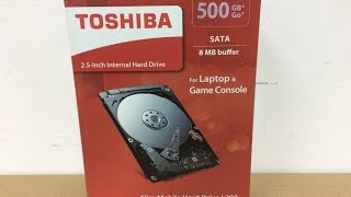 Toshiba L200 500GB Slim Mobile 2.5