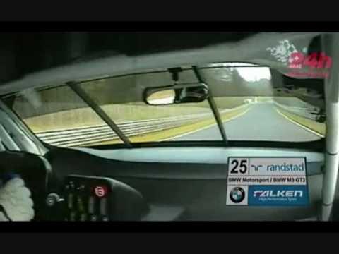 2010 Nurburgring 24 hours BMW M3 GT2 Hotlap