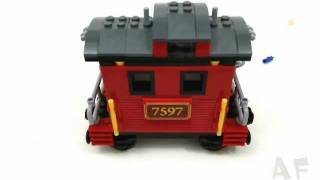 Western Train Chase - Lego Toy Story 3 Stop Motion Review Set 7597