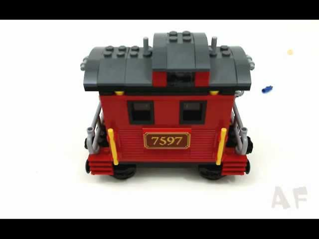 Watch Western Train Chase Lego Toy Story 3 Stop Motion Review Set