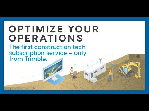 Trimble Platform as a Service