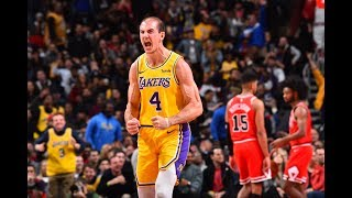 Los Angeles Lakers Went On A 26-4 Run In 4Q To Beat Chicago Bulls