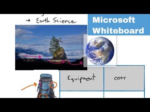 Microsoft Teams Whiteboard Basics - Sharing And Using