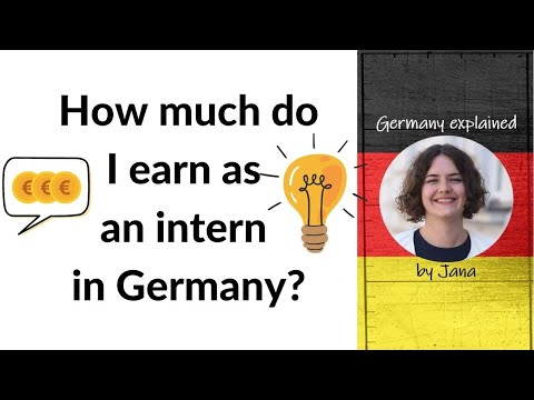 How much do I earn as an intern in Germany? #askmeetra