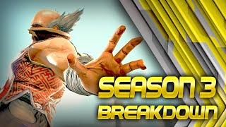 Heihachi S3 Strength Not As Dramatic As His S2 Counterpart