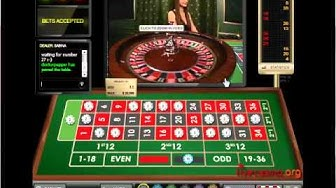 European Roulette live online at William Hill