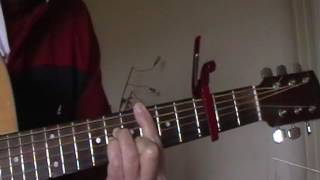 How deep is your  love  acoustic guitar song lesson available on request