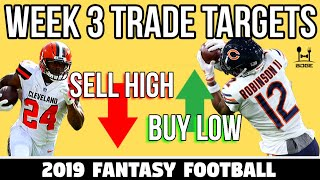 Week 3 Fantasy Football Trade Targets