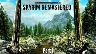 SKYRIM SPECIAL EDITION - New Graphics and Gameplay - 1080p 60fps