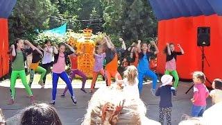 День защиты детей в Пушкино 2015 - школа танцев Айседора, R&B - Джоан