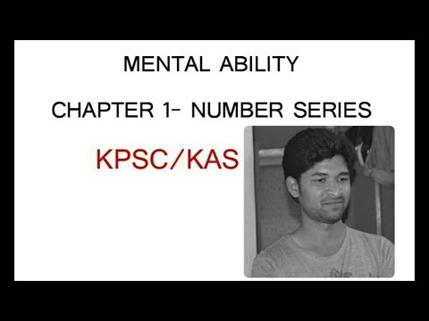 Success Acadamy - Number Series 1.1 For KPSC/KAS, Banking Exam's by Vishwas