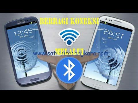 Cara berbagi WiFi melalui bluetooth