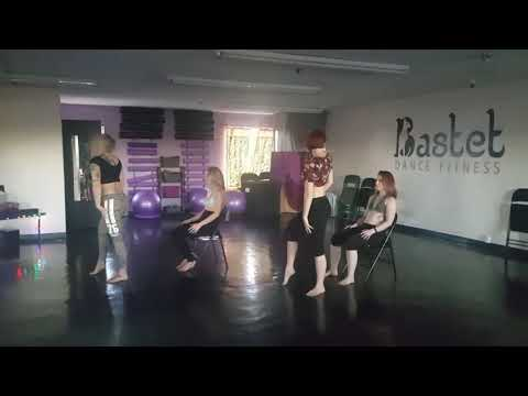 Lap Dance Choreography - Party Monster by The Weekend - Lap Dance Workshop Day 2 Group 1