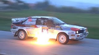 15° Rally Legend 2017 - Day 2 - BIG SHOW, Drifts, Flames & Action!