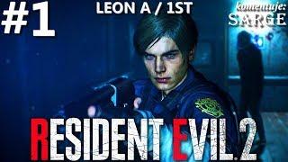 Zagrajmy w Resident Evil 2 Remake PL | Leon A | odc. 1 - Horror w Raccoon City | Hardcore