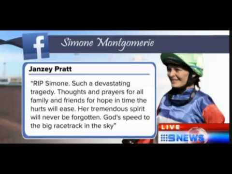Simone Montgomerie Dies age 26 Social Media Frenzy For Jockey Simone Montgomerie RIP