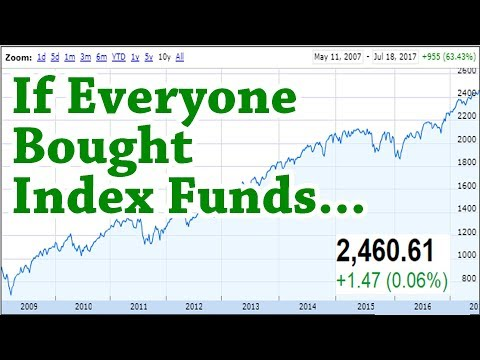If Everyone Bought Index Funds...