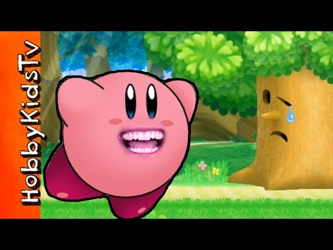 Kirby's Return to Dreamland! Kirby TALKS During Game Play HobbyKidsTV