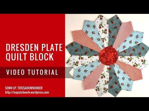 Video tutorial: Dresden plate