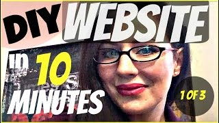 10 Minute DIY Way To Set Up A Small Business Website, Domain, and Matching Email: Part 1 of 3(This easy to follow tutorial will give you a way to have a functioning website (blog), and matching email address in the next 10 minutes. ♥THIS VIDEO: This is the ..., 2015-01-15T14:52:18.000Z)