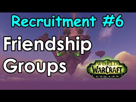 Recruitment #6 Friendship Groups