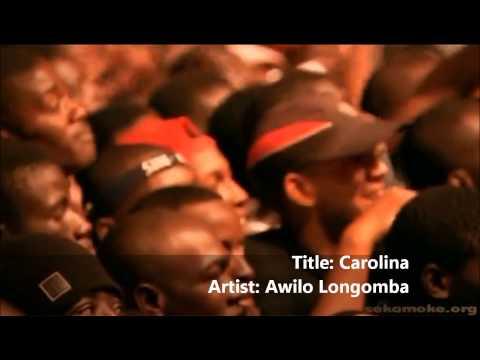 Carolina - by Awilo Longomba (LIVE in concert)