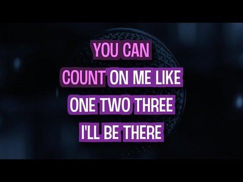 Count On Me - Bruno Mars | Karaoke Version