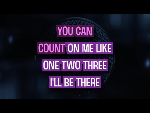 Count On Me (Karaoke Version) - Bruno Mars | TracksPlanet