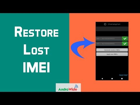 Restore Lost IMEI On Android : Hindi