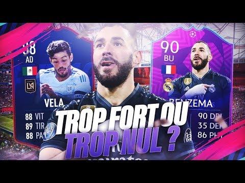 FIFA 19 - BENZEMA 90 ET VELA 88 SONT TROP FORT ? ON PACK AUSSI UN TRÈS GROS BOOST !!