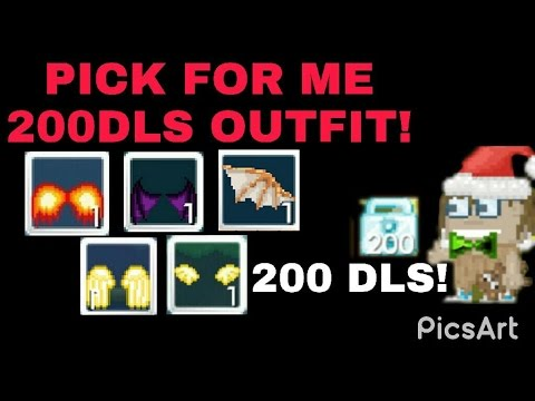 Growtopia ~ How to spent my 200dls ?