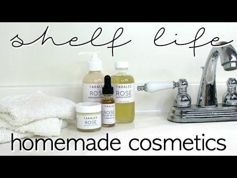 How to Determine Shelf Life of Homemade Cosmetics