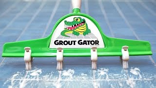 Grout Gator - Tile Cleaning Brush